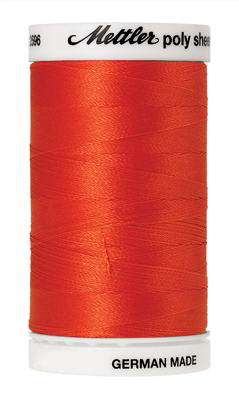 Amann Group Mettler Poly Sheen embroidery and quilting thread 1304 2596