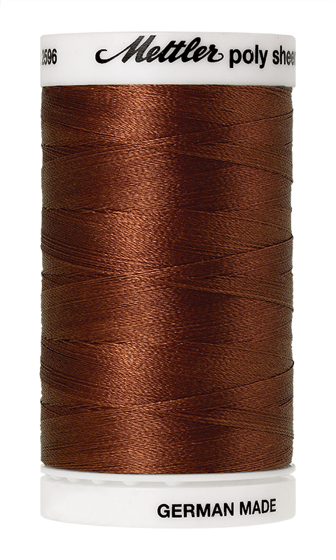 Amann Group Mettler Poly Sheen embroidery and quilting thread 1342 2596