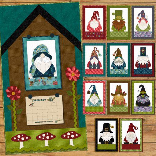 gnome for the holidays calendar 1