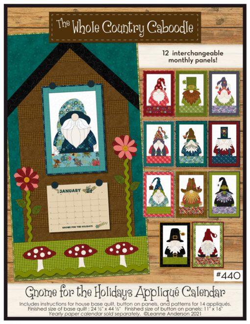 gnome for the holidays calendar 2